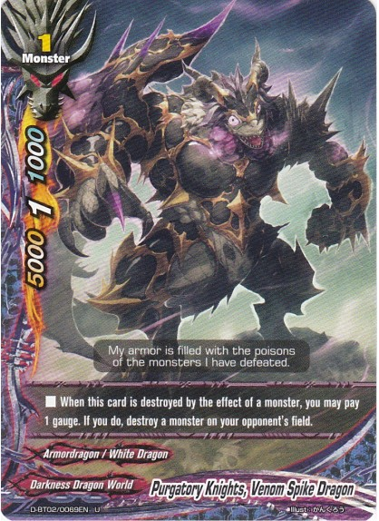 Purgatory Knights, Venom Spike Dragon