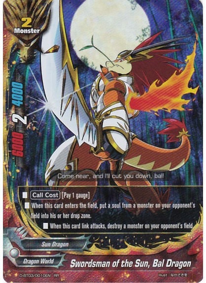 Swordsman of the Sun, Bal Dragon