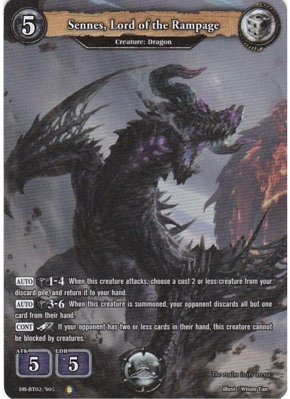 Sennes, Lord of the Rampage (SECRET)