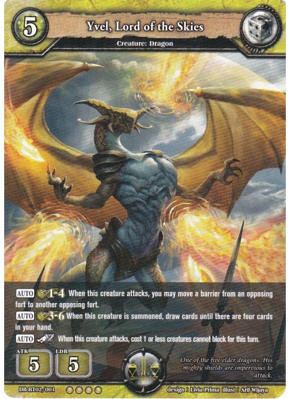 Yvel, Lord of the Skies