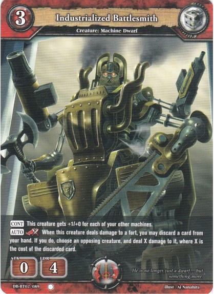 Industrialized Battlesmith