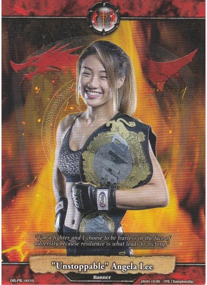 """Unstoppable"" Angela Lee (Red Banner Event Exclusive, Asia-Oceania Ambassador)"