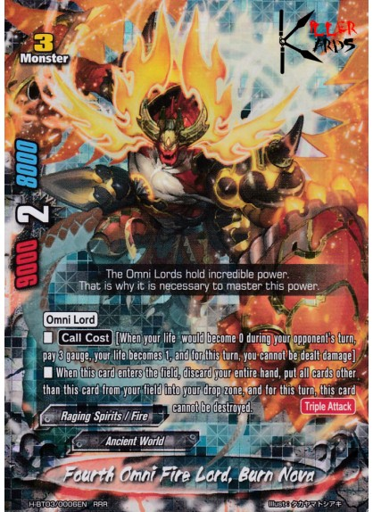 Fourth Omni Fire Lord, Burn Nova