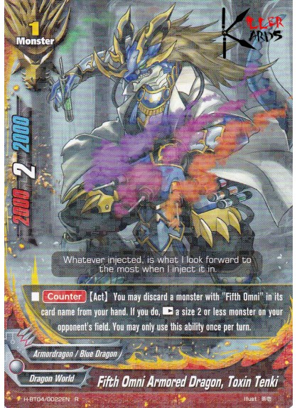 Fifth Omni Armored Dragon, Toxin Tenki