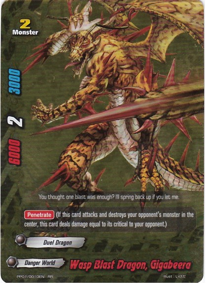 Wasp Blast Dragon, Gigabeera