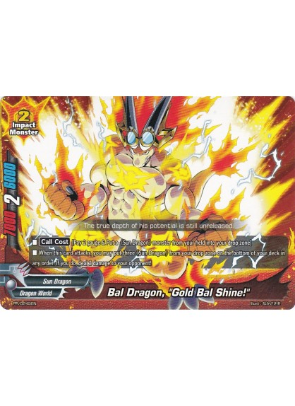 "Bal Dragon, ""Gold Bal Shine!"" (PR)"