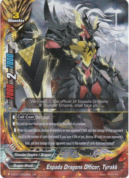 Espada Dragons Officer, Tyrakk
