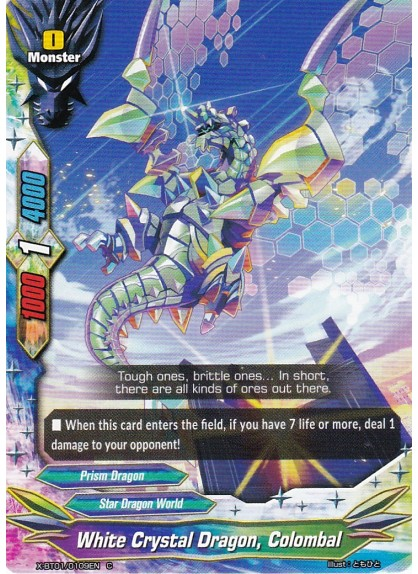 White Crystal Dragon, Colombal