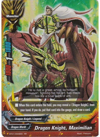 Dragon Knight, Maximillian