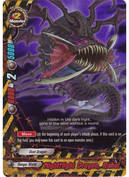 Nightflight Dragon, Rahal